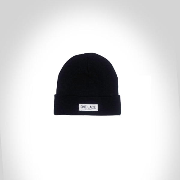 Buy Black Cover up beanie