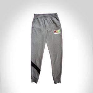 grey cotton strap pant
