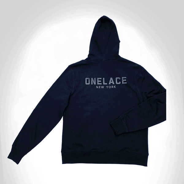 BLACK IS NOT INFERIOR COTTON ONELACE HOODED TOP